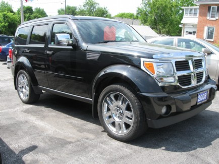 2008 dodge nitro 4x4 at bertrand motors campbellford on. Black Bedroom Furniture Sets. Home Design Ideas